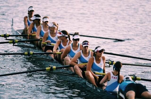 OPRF Senior Maria Kent (third seat) will be rowing at Stanford next year