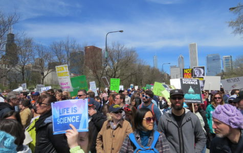 Chicago comes together to march for science