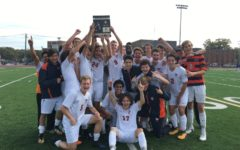 Soccer Wins First Conference Title in Decade