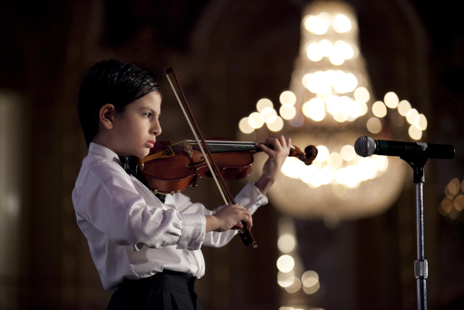Karim Al-Zahabbi is an academic genius and a musical prodigy.