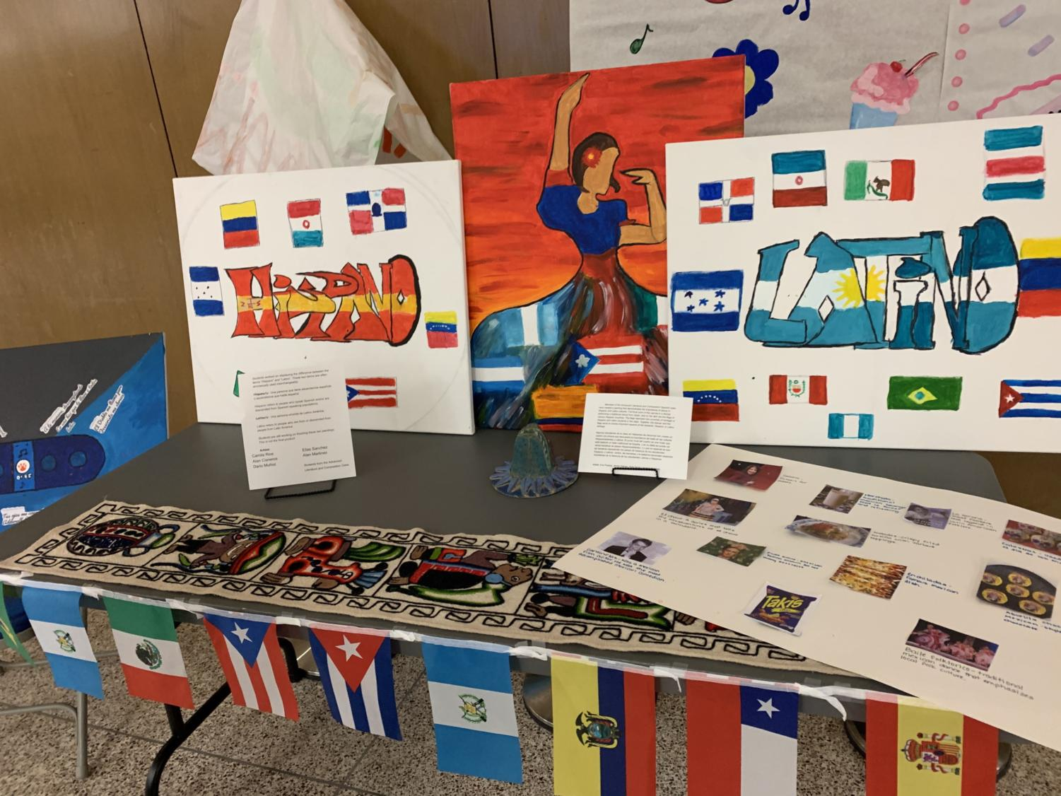 Stand at the Hispanic Heritage Month event