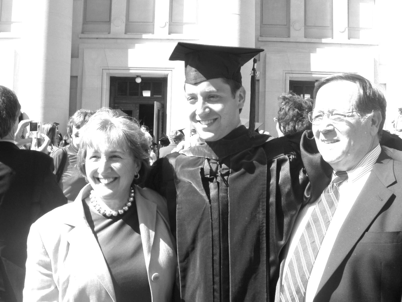 Wolman's graduation from law school in 2006.