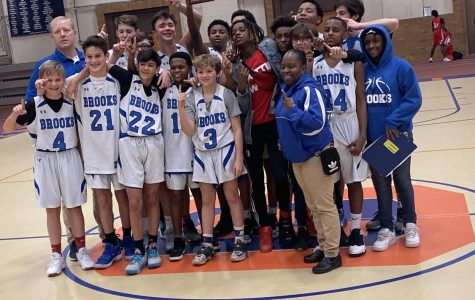 """Brooks put an end to Julian's """"three-peat"""" in the tournament with their 37-33 win"""