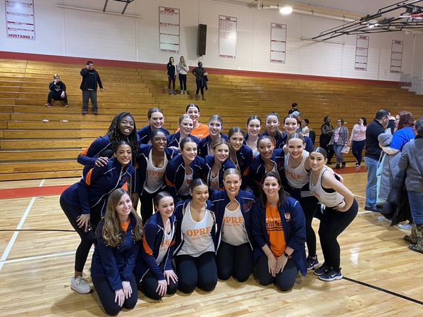 Drill team qualifies for state