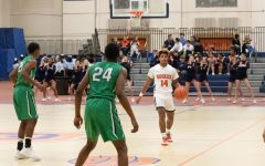 #14 Demetrius Dortch has found his role as starting point guard on OPRF's varsity team