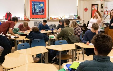 Math Team pushes through travails of competition