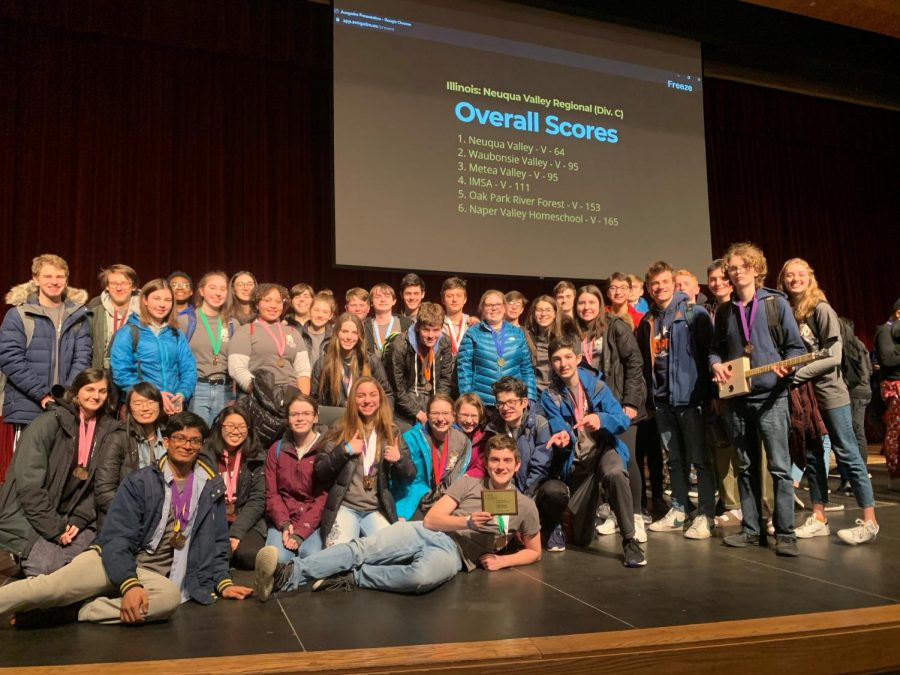 Last year, Science Olympiad won fifth place at regionals, and made it to state for the first time in OPRF history
