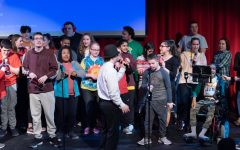 Students perform at the Best Buddies Talent Show in March 2020.