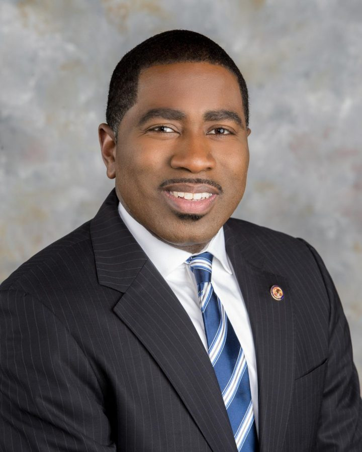 Marcus Evans Jr., the Illinois State Rep. who proposed HB3531, which would ban certain violent video games