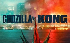 A promotional poster for Godzilla vs. Kong