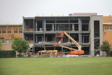 The new construction at OPRF